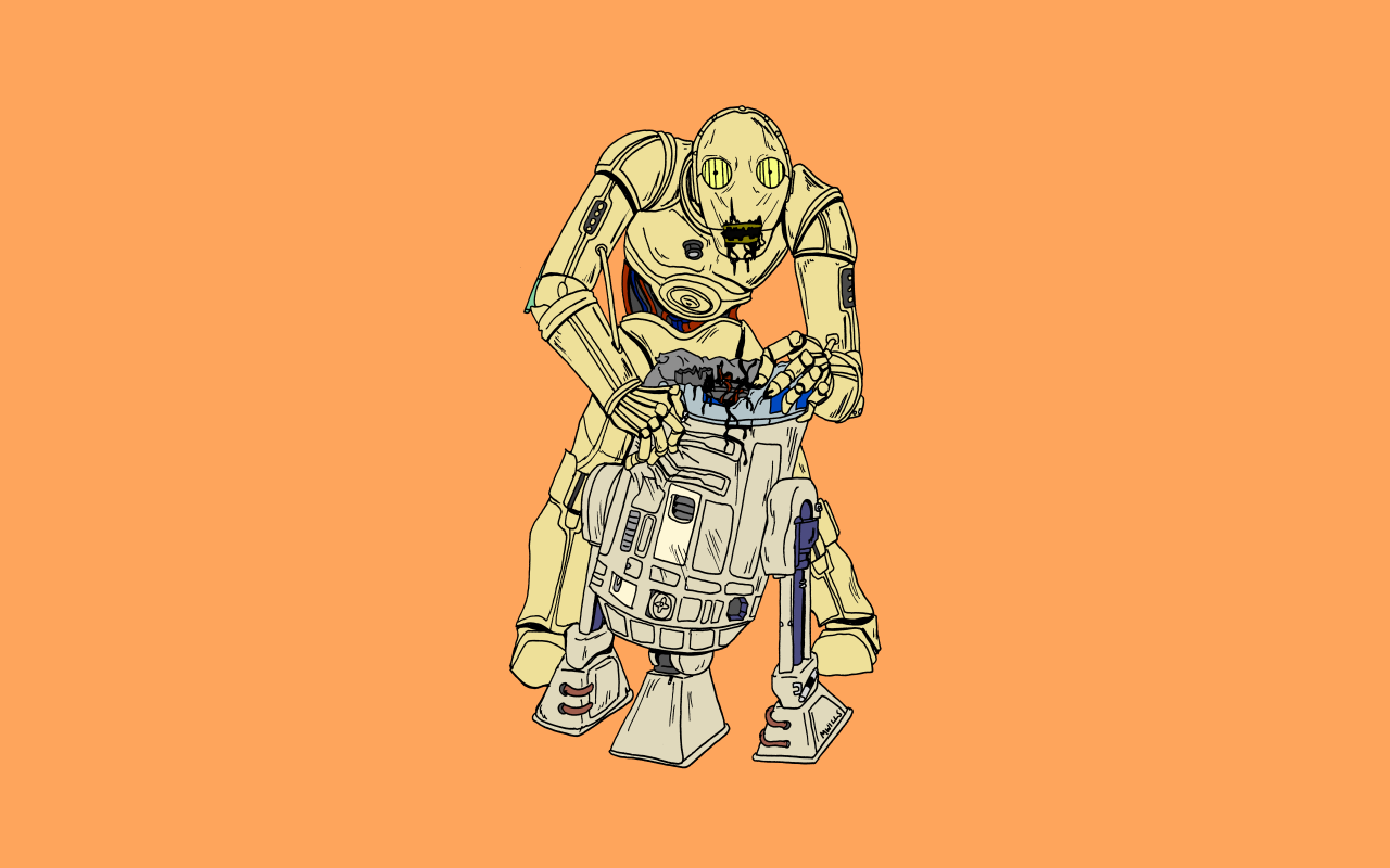 R2 D2 C 3PO Best Friends