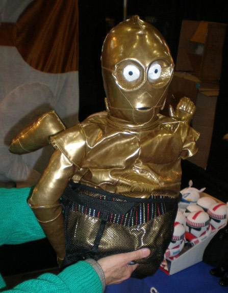 c-3po plush back pack