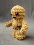 Mini Amigurum C-3PO