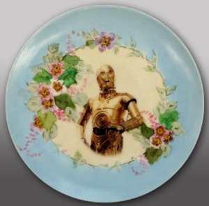 C-3PO collector's plate