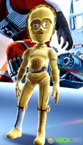 C-3PO avatar for Xbox 360